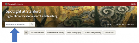 Spotlight at Stanford home page masthead