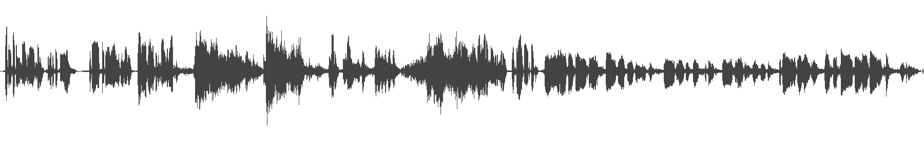 sound waves from a musical excerpt