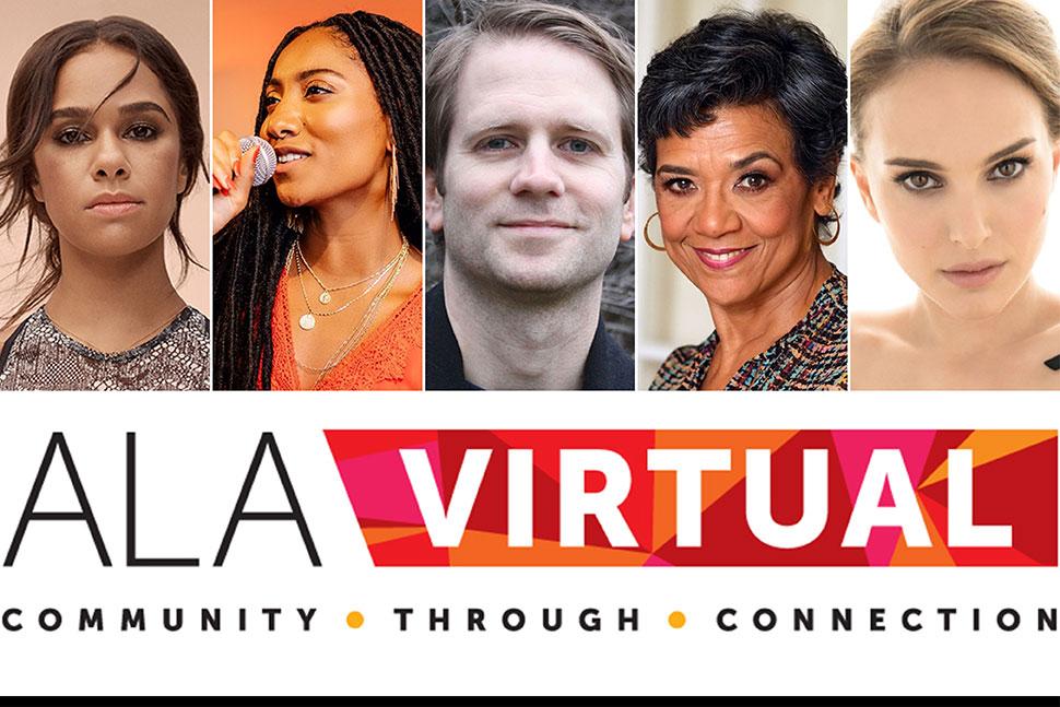 Graphic: ALA Virtual, Community Through Connection