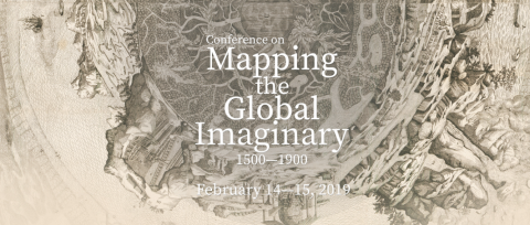 Screenshot of the Mapping the Global Imaginary exhibit home page