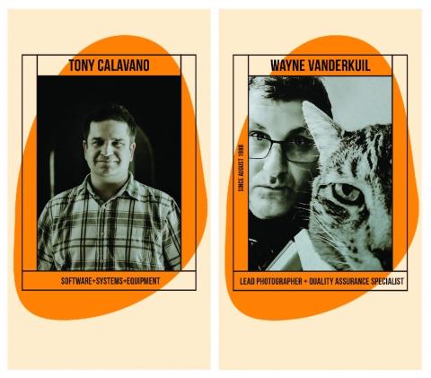 Image of Tony Calavano and Wayne Vanderkuil