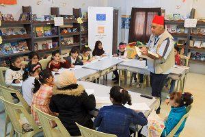 Photo: Traditional Syrian storytelling