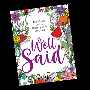 Cover of Well Said coloring book