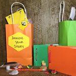 Take-and-make library programming bags