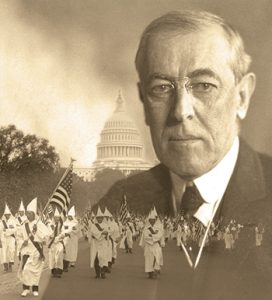 """The Ku Klux Klan marches in Washington, D.C., in 1926. Wilson spoke favorably of the Klan during his term (1913–1921), showed the film The Birth of a Nation in the White House, and opposed integration. <span class=""""credit""""></noscript>Photo composite: Library of Congress Prints and Photographs Division (Wilson, parade)</span>"""" width=""""272″ height=""""300″ srcset=""""https://temilib.nasniconsultants.com/wp-content/uploads/2021/01/tarnished-legacies-1.jpg 272w, https://temilib.nasniconsultants.com/wp-content/uploads/2021/01/tarnished-legacies-4.jpg 350w"""" sizes=""""(max-width: 272px) 100vw, 272px""""></a><figcaption id="""