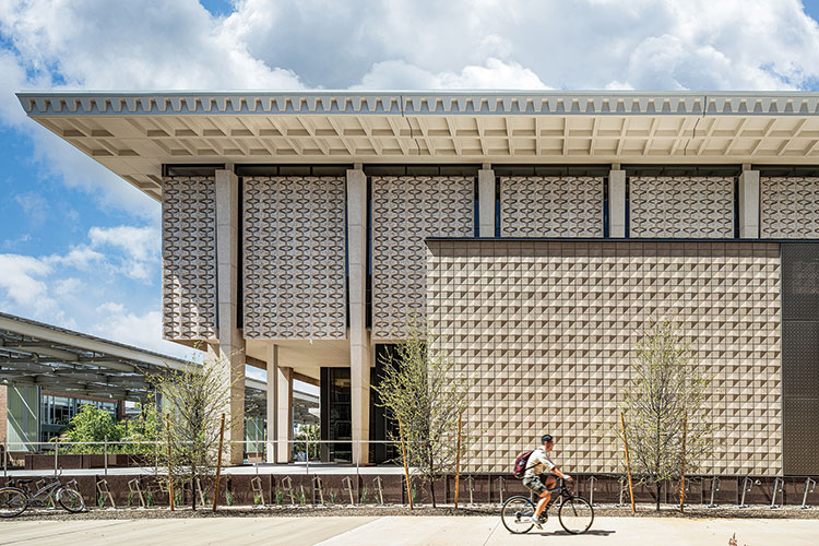 Hayden Library, Arizona State University in Tempe Architect: Ayers Saint Gross Photo: Gabe Border