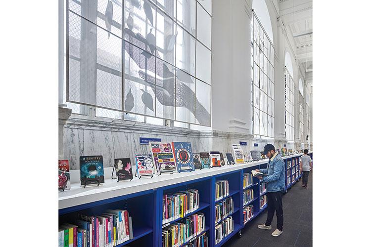 Brooklyn (N.Y.) Public Library, Sunset Park branch Architect: Leroy Street Studio Photo: Halkin   Mason Photography